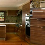 custom kitchen design built using sustainable wood by Berkeley Mills