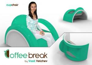 cute Teacup teaparty furniture for Tealover Design by Vasiil Velchev