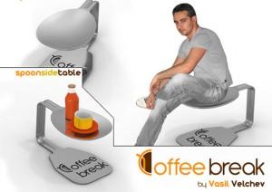 cute Teacup teaparty furnitures for Tealover Designed by Vasiil Velchev