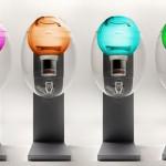 cute water dispenser like transparent egg AQUAOVO by Manuel Desrochers
