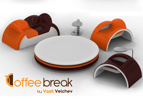 cutes Teacup teaparty furniture for Tealover Designed by Vasiil Velchev