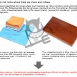 cutting board sanitizer use UV system kill microbes by Chang Shin Gwak