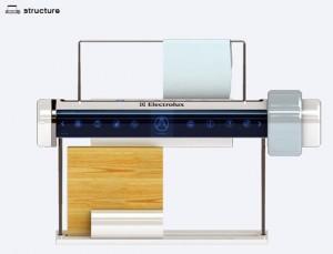 cutting board sanitizer uses UV systems kill microbes by Chang Shin Gwak