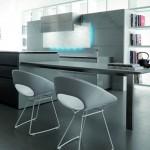 distinctive rectangular ventilation hood LED Illumination kitchen lighting Toncelli