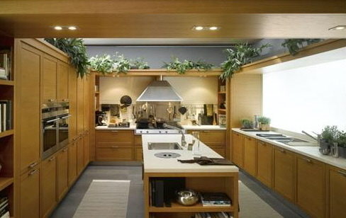 dream kitchen for the modern contemporary or even rustic interior kitchen design