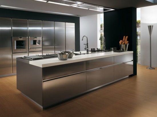durable kitchen furniture contemporary modern kitchen by Ernestomeda