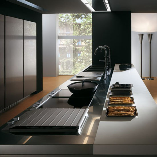 durable kitchen furniture contemporary modern kitchens by Ernestomeda