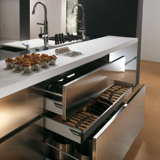 durable kitchen furniture contemporary moderns kitchen by Ernestomeda