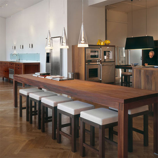 Eco Friendly Kitchen Uses All Wood Fsc Certified Natural