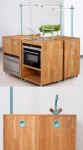 eco friendly kitchens appliances for small kitchen by Swedish designer