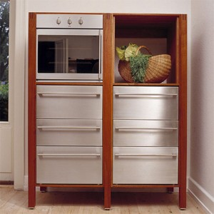elegant classic design with tenon-ed joints and semi-circular cut-out handle