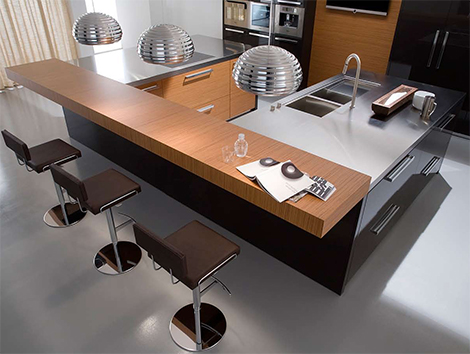 elegant urban kitchen