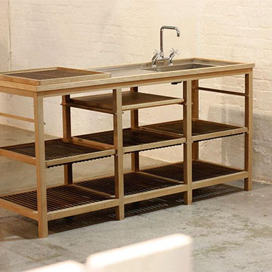 elegant water tap froms Milano Kitchen by Peter Klint