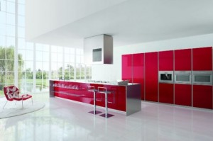 enlarge the space visually and make it lighter One popular type of modern kitchens design