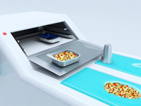 Ergonomic Design Kitchen Concept With A Bright Blue Color Style Kitchen Design Ideas At Hote