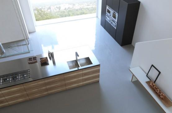 exceptional kitchen furniture for large kitchen Modulnova Italian company