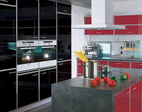 exclusive red kitchen ideas
