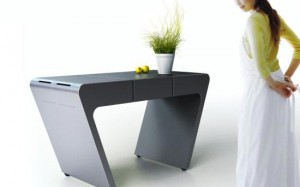 flexible kitchens table Integrating food drawers on the right and left sides
