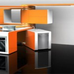 functional kitchen feature moving parts