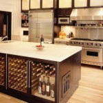 functional kitchen island table with storage for modern kitchen design