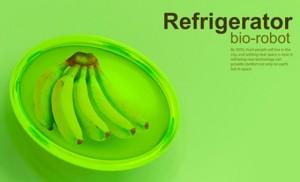 future green refrigerators keep food fresh with nanorobotic bio gel system