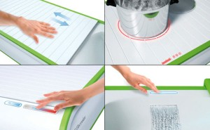 future kitchens concept furniture with waterless dishwashing technology