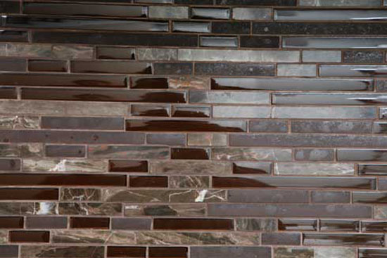 glass tile kitchens in wide range of colors textures shapes combinations and designs