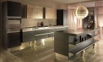 gold or silver kitchen design ideas for elegant and simplicity