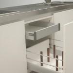 gray scale color Kitchens Strato Flex 1 Kitchen designed to be new metropolitan kitchen icon