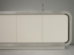 gray scale color Kitchens from Strato Flex 1 Kitchen designed to be new metropolitan kitchen icon