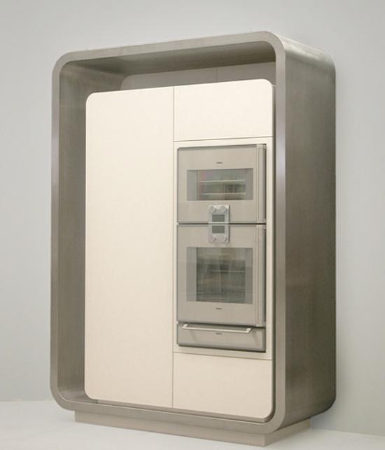 gray scale colors Kitchen from Strato Flex 1 Kitchen designed to be new metropolitan kitchen icon