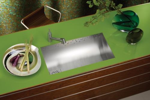 green cool sinks
