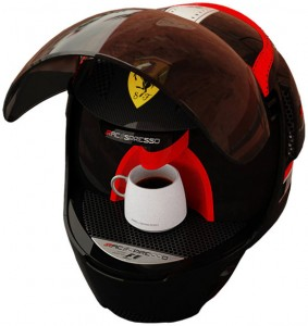 helmet coffee machine