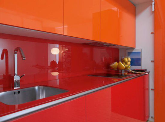 hidden kitchen designs concept of cooking place to save space