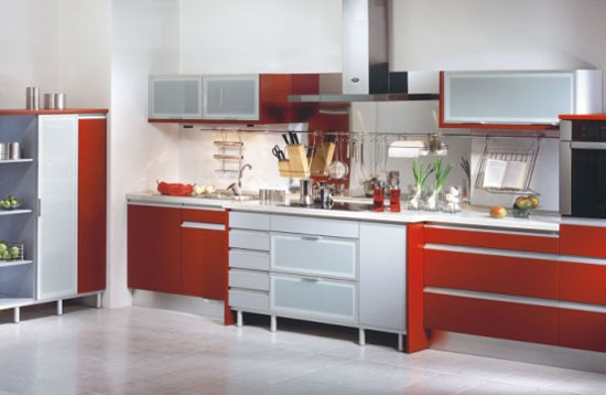 high glossy or wooden kitchen Sigma Delta and Libras From Gorenje