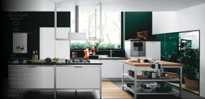 high quality contemporary kitchen design with sleek look fresh air atmosphere
