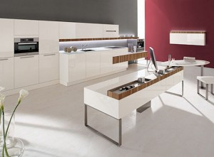 high tech European Kitchen lightings Germany integral with apple PC and I Pod