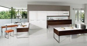 high tech European Kitchens lighting Germany integral with apple PC and I Pod