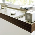 high tech European Kitchens lighting from Germany integral with apple PC I Pod
