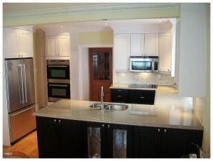 ikea two tone kitchen black brown ikea paint finished ramsjo kitchen in two tones ikea  two tone kitchen