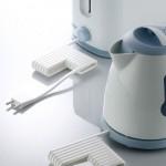 innovative electricity wire kitchens called E-Line cords by Kim Mi Ran