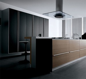 interior kitchen design ideas use highest quality material Javanese teak