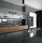 interior kitchen designs ideas use highest quality materials Javanese teak