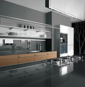 interior kitchen designs ideas use highest quality materials Javanese teak