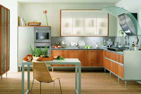 italian kitchen style from Valcucin has clean line for modern kitchen