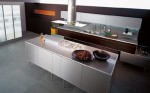 italian kitchen style from Valcucin has clean lines for modern kitchens