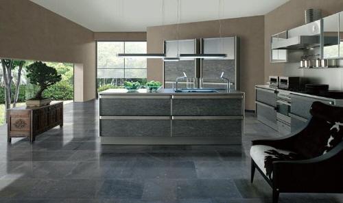japaneese modern kitchen design Toyo Kitchen Style with stainless steel accents