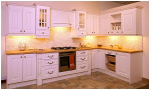 kitchen cabinet designs for small kitchens Tile Flooring for Small Kitchens Matched with White Cabinets kitchen cabinet ideas for small kitchens