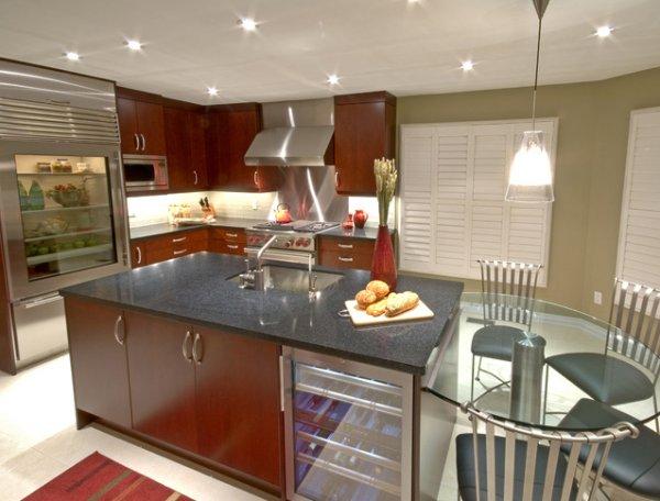 kitchen design ideas for wood kitchen cabinet and wood kitchen island