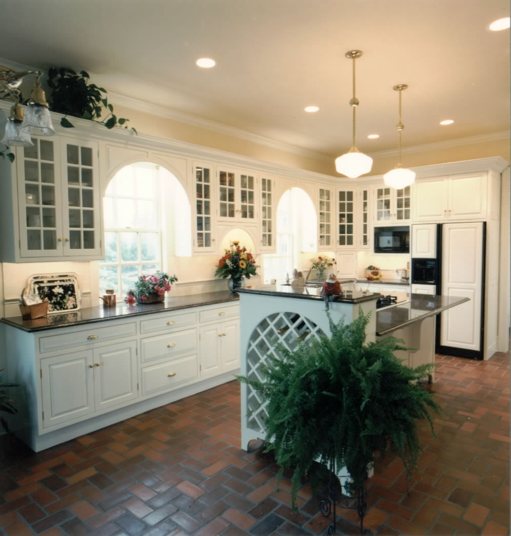 kitchen lighting white color